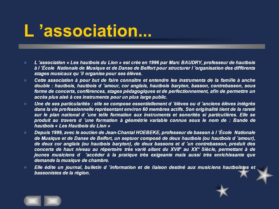 L 'association...