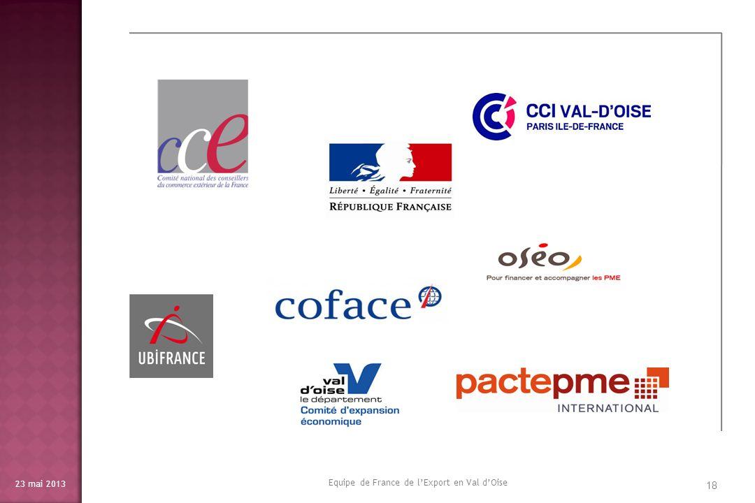 Equipe de France de l'Export en Val d'Oise