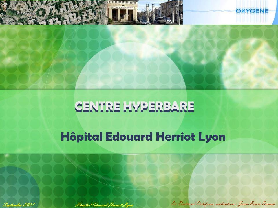 Exposé de Jean-Pierre Danner Hôpital Edouard Herriot Lyon