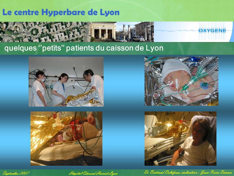 quelques ''petits'' patients du caisson de Lyon