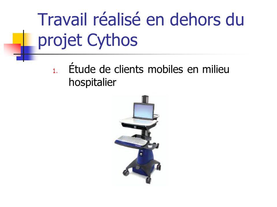 Travail réalisé en dehors du projet Cythos