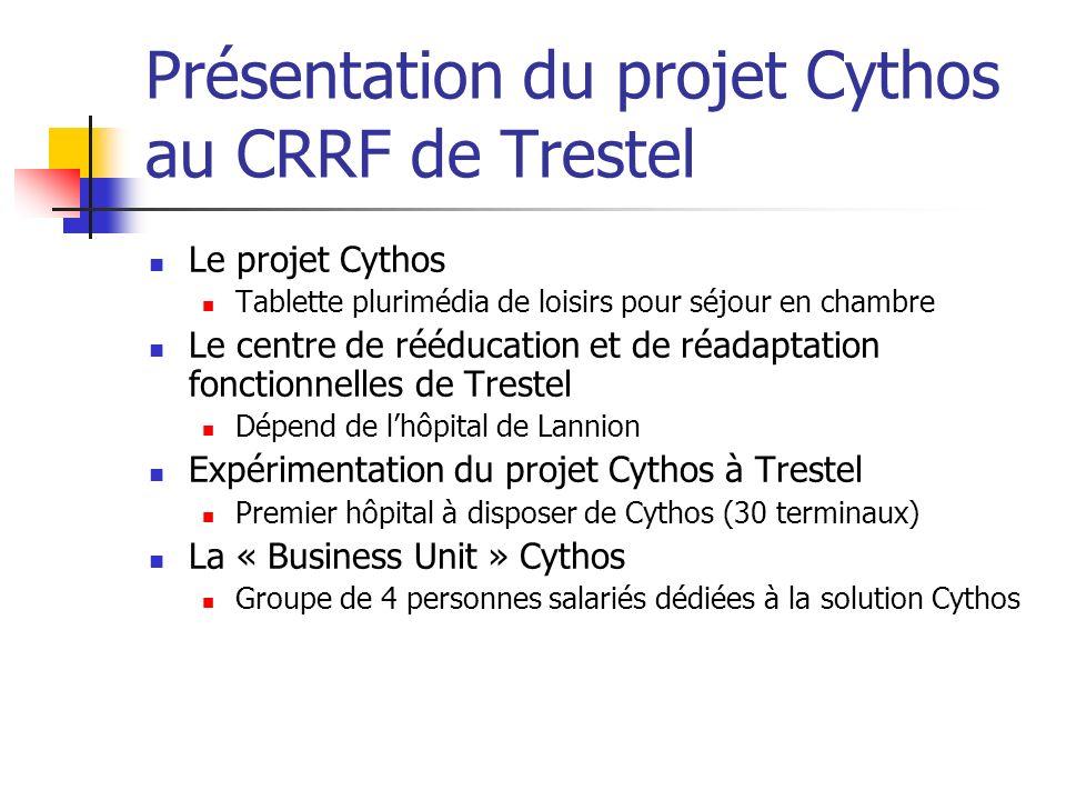 Présentation du projet Cythos au CRRF de Trestel