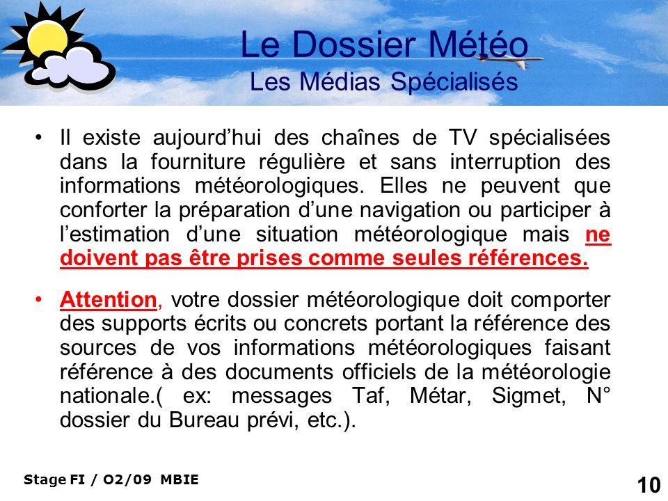 Le Dossier Météo Les Médias Spécialisés