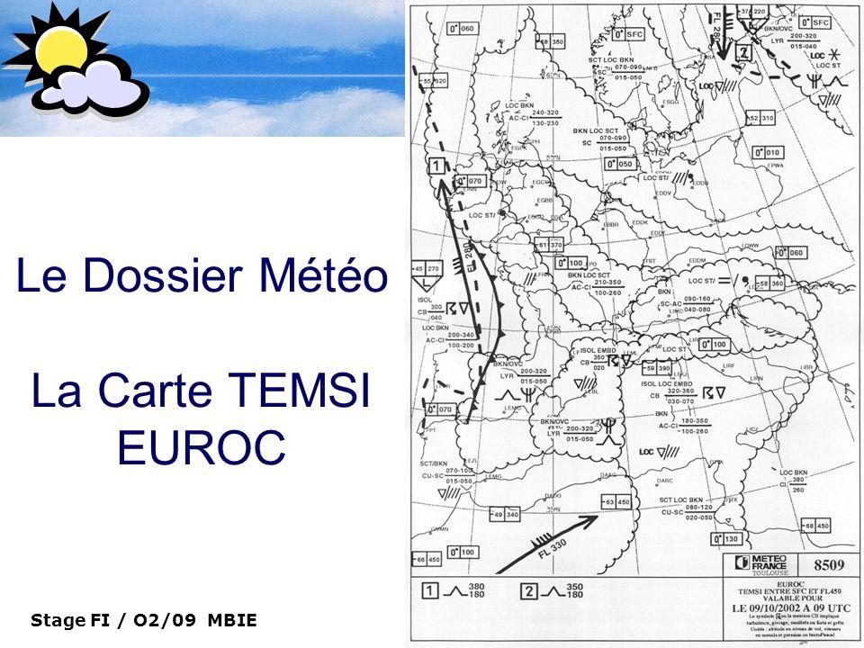 Le Dossier Météo La Carte TEMSI EUROC