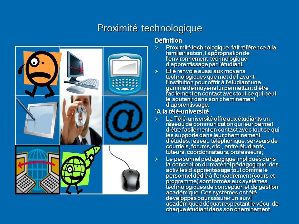 Proximité technologique