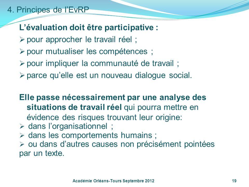 L'évaluation doit être participative :