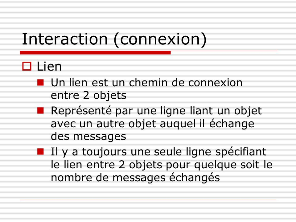 Interaction (connexion)