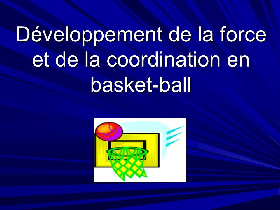Développement de la force et de la coordination en basket-ball