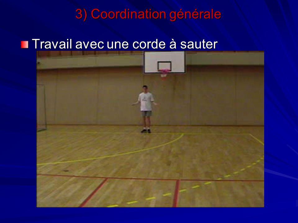 3) Coordination générale