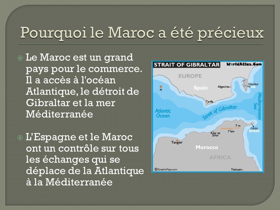 Pourquoi le Maroc a été précieux