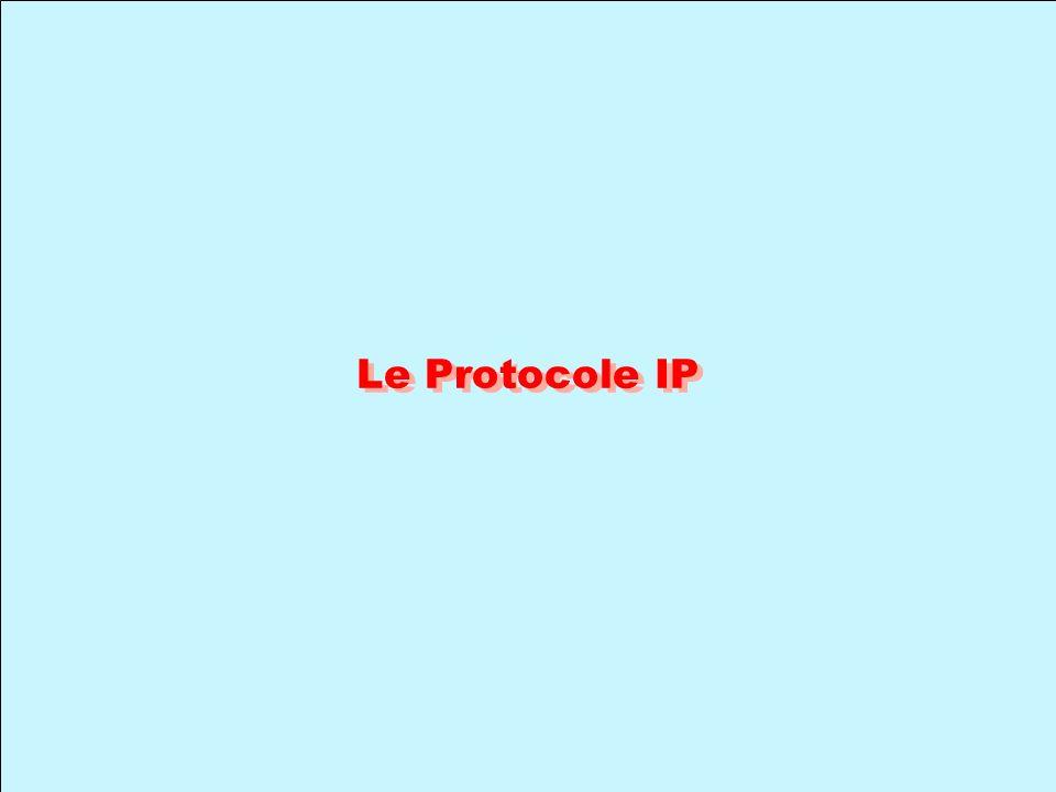 Le Protocole IP