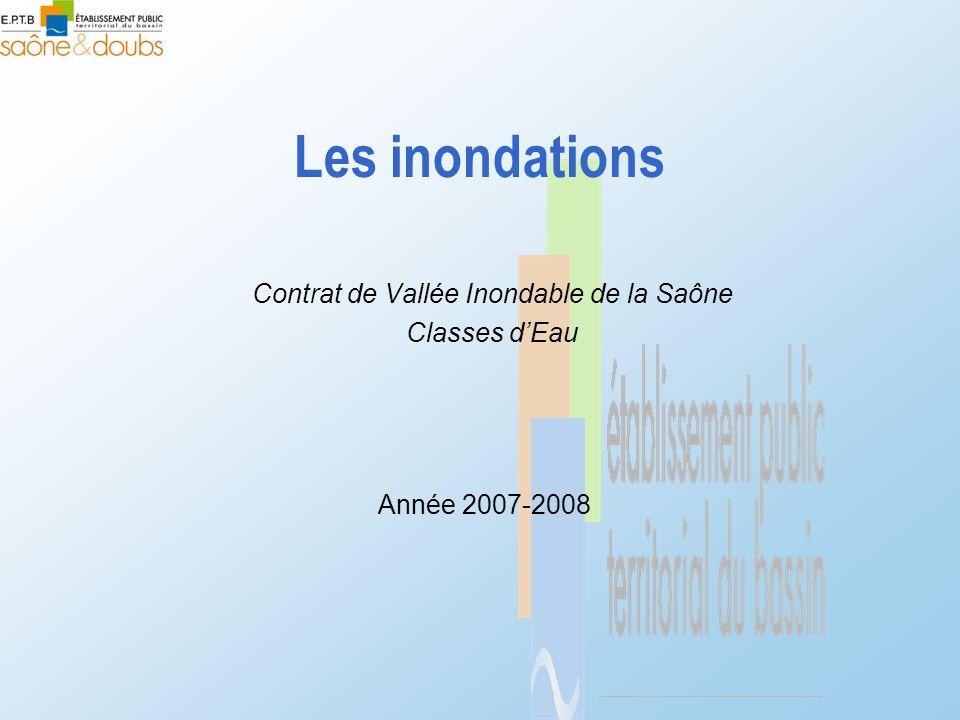 Contrat de Vallée Inondable de la Saône Classes d'Eau