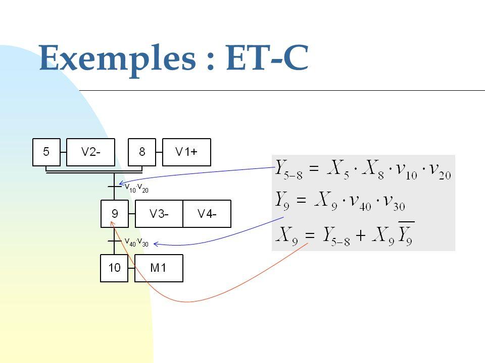 Exemples : ET-C