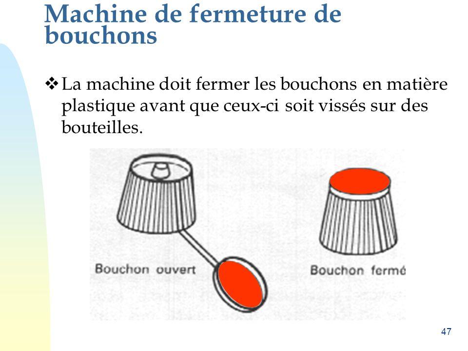 Machine de fermeture de bouchons