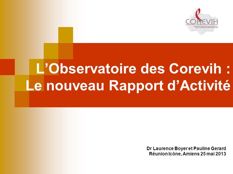 L'Observatoire des Corevih : Le nouveau Rapport d'Activité