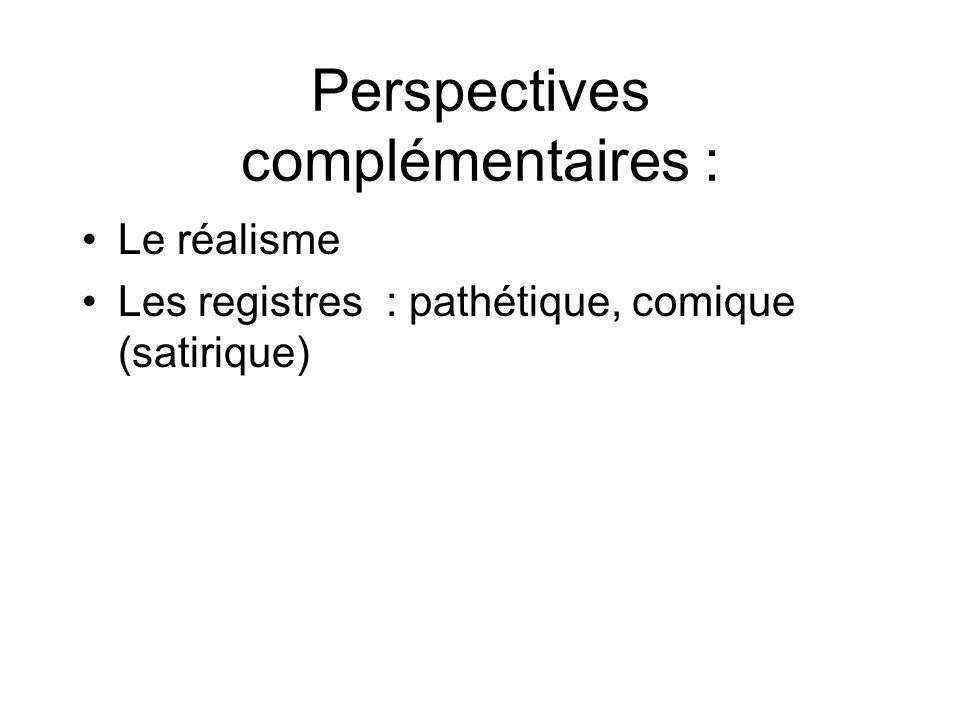Perspectives complémentaires :