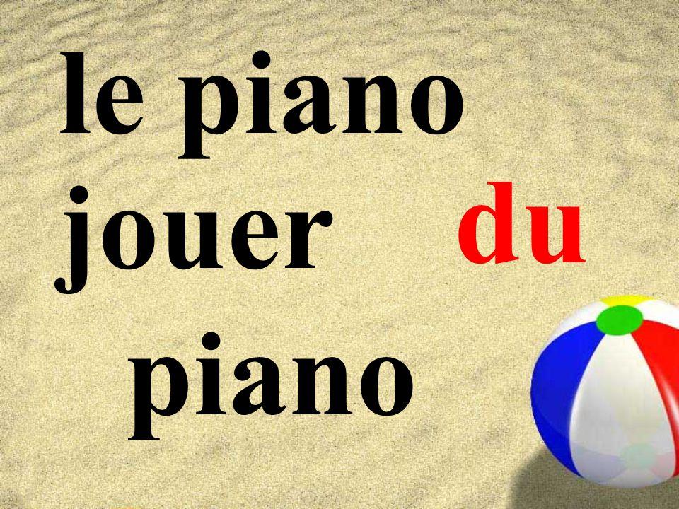 le piano du jouer piano