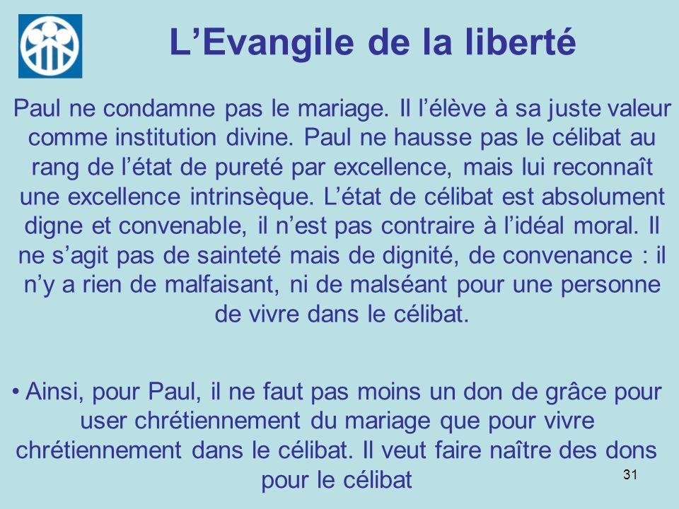 L'Evangile de la liberté