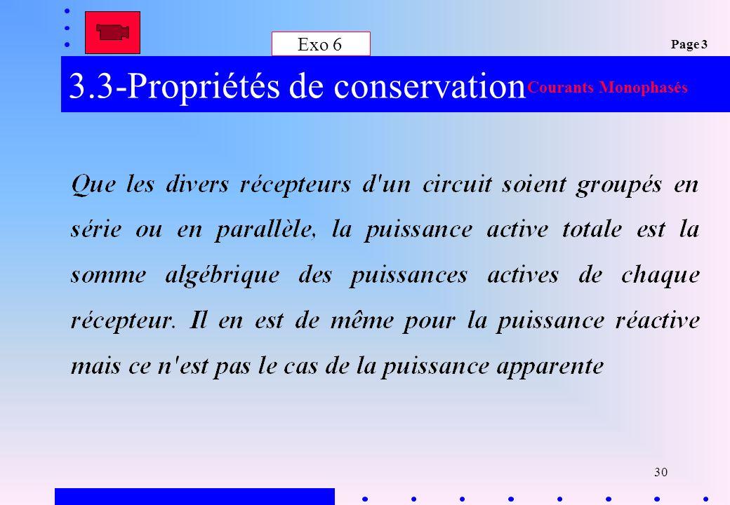 3.3-Propriétés de conservation