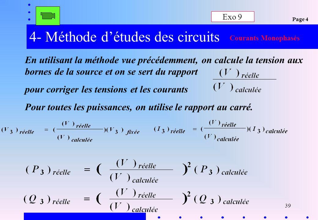 4- Méthode d'études des circuits