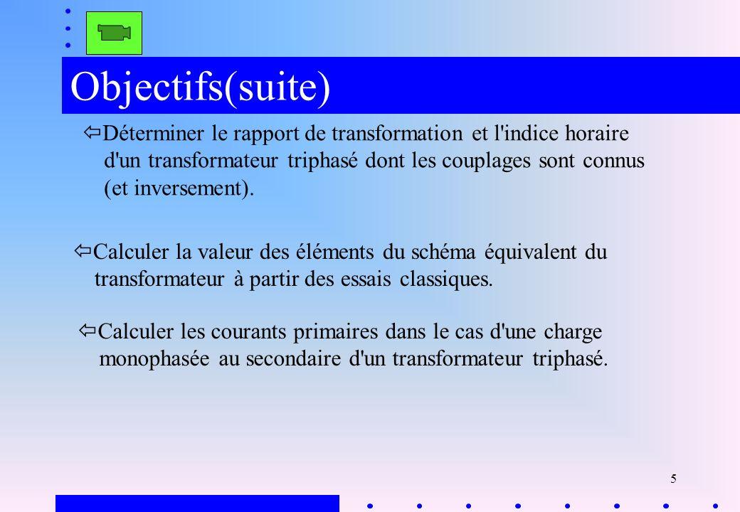 Objectifs(suite)