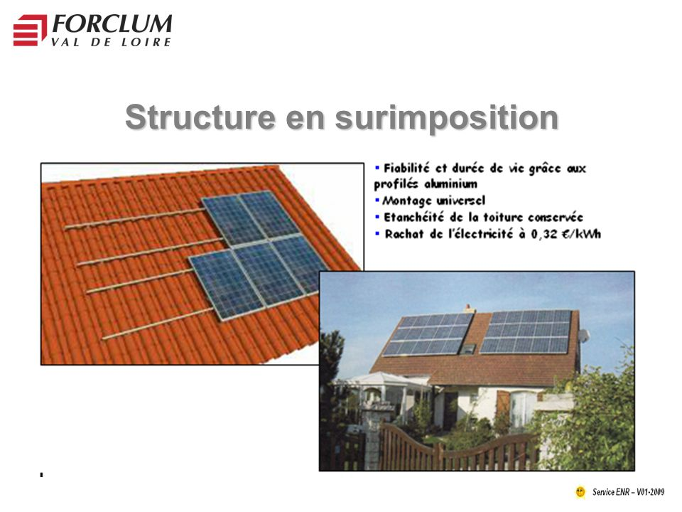 Structure en surimposition