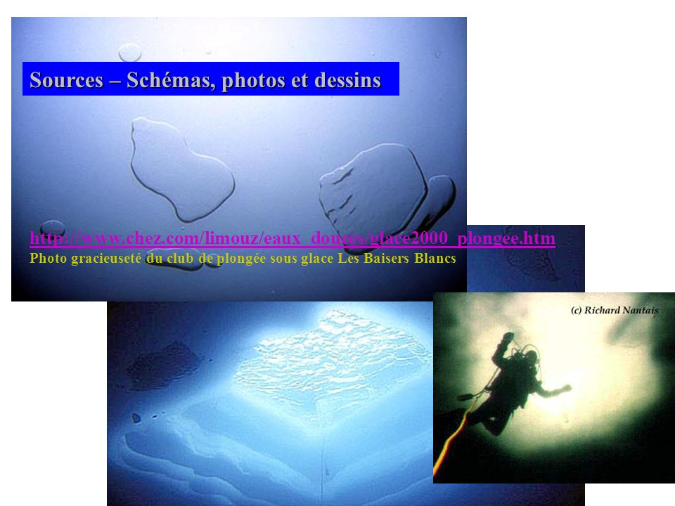 Sources – Schémas, photos et dessins