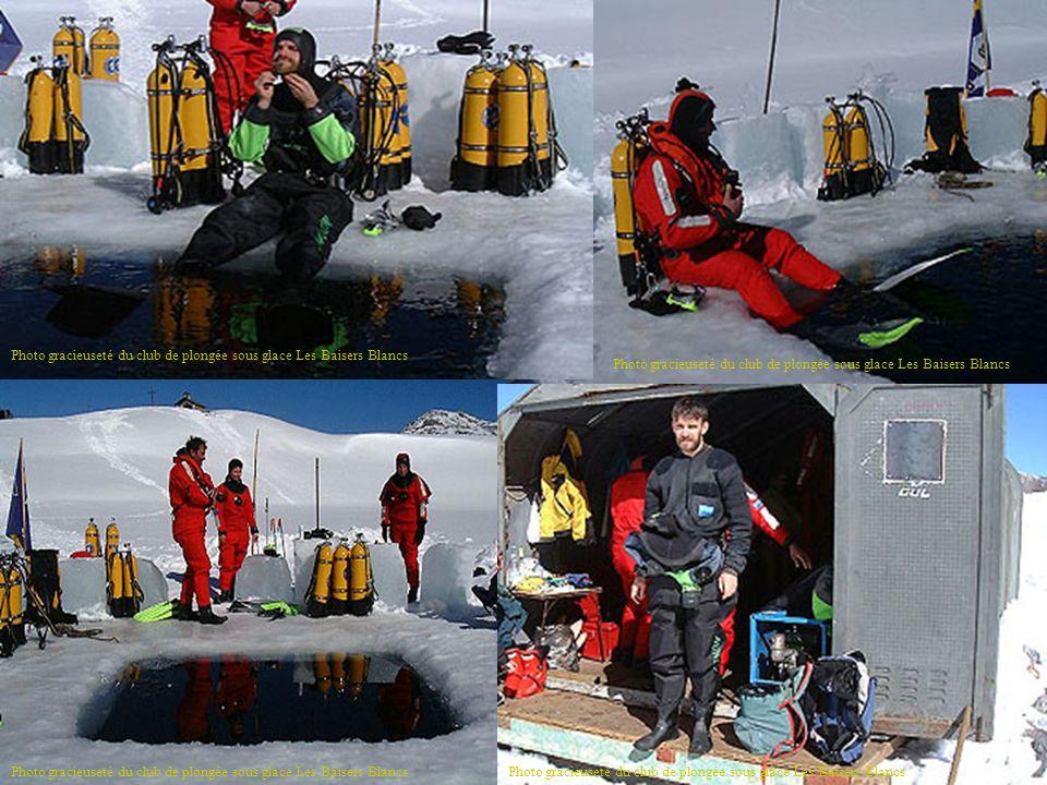 Photo gracieuseté du club de plongée sous glace Les Baisers Blancs