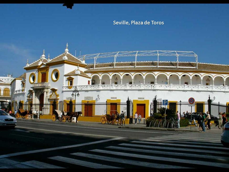 Seville, Plaza de Toros