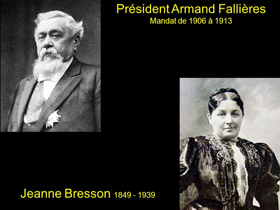 Président Armand Fallières