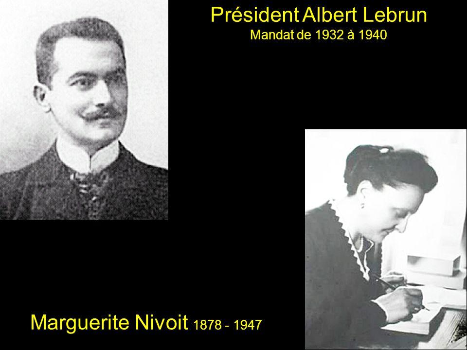 Président Albert Lebrun
