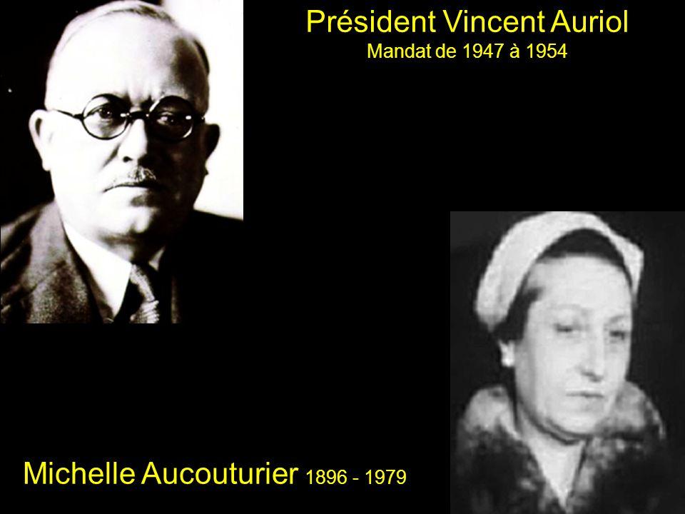 Président Vincent Auriol