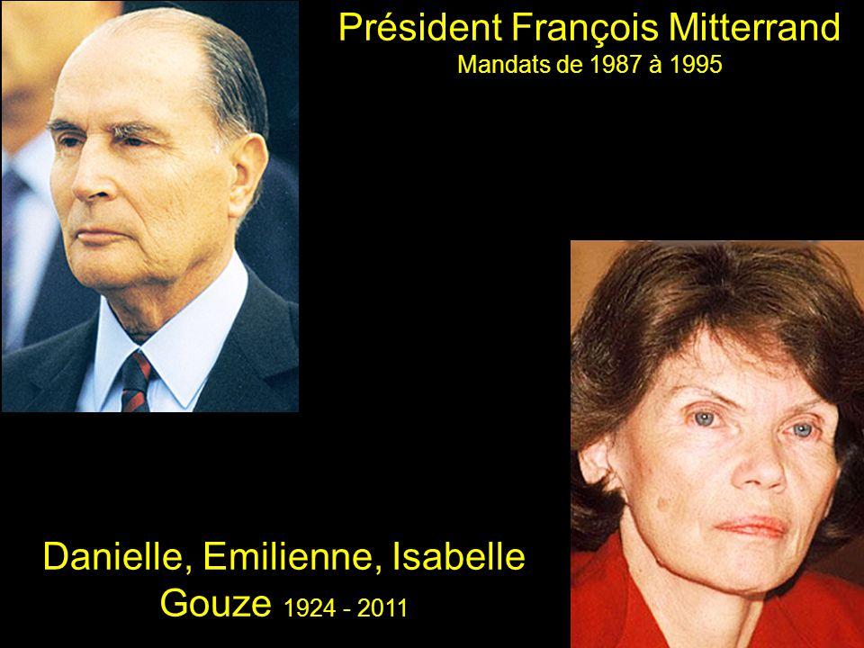 Président François Mitterrand