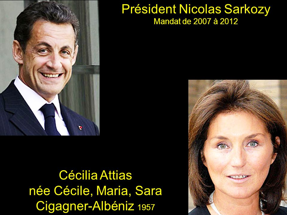 Président Nicolas Sarkozy