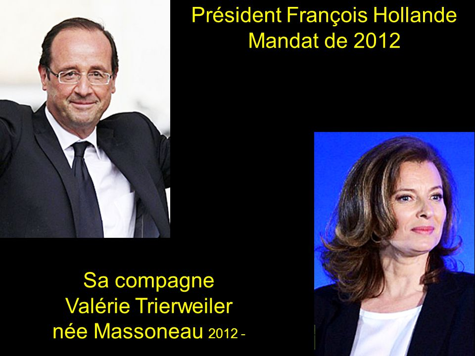 Président François Hollande