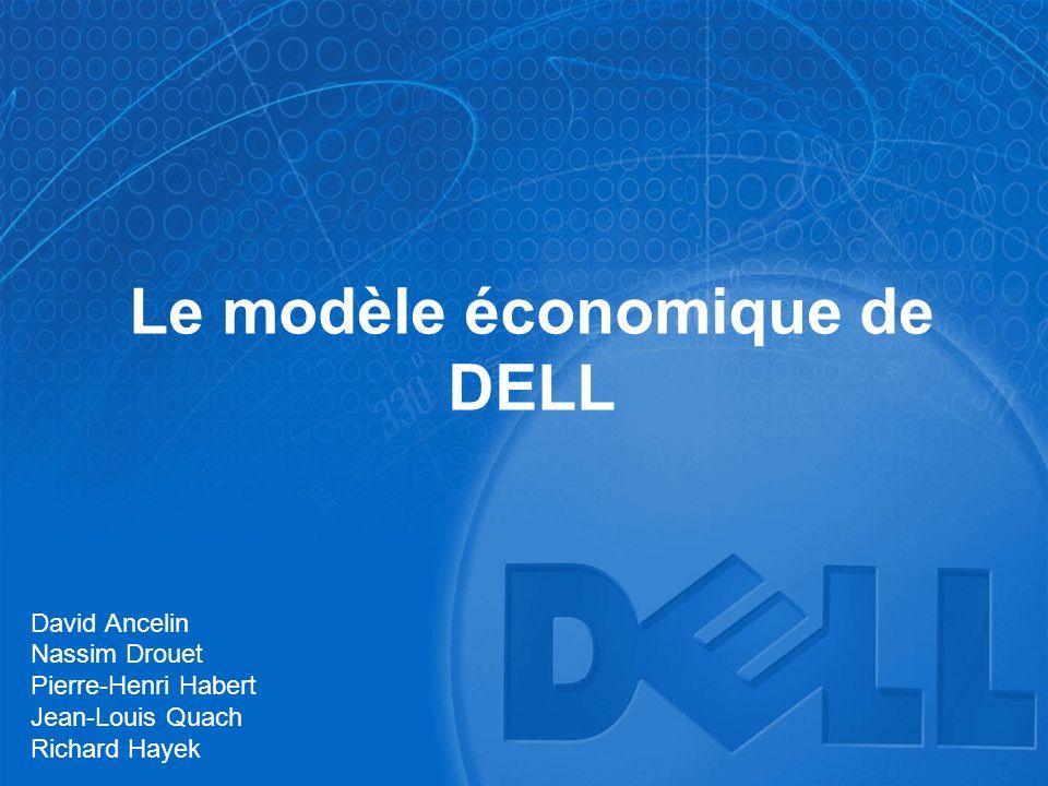 Le modèle économique de DELL