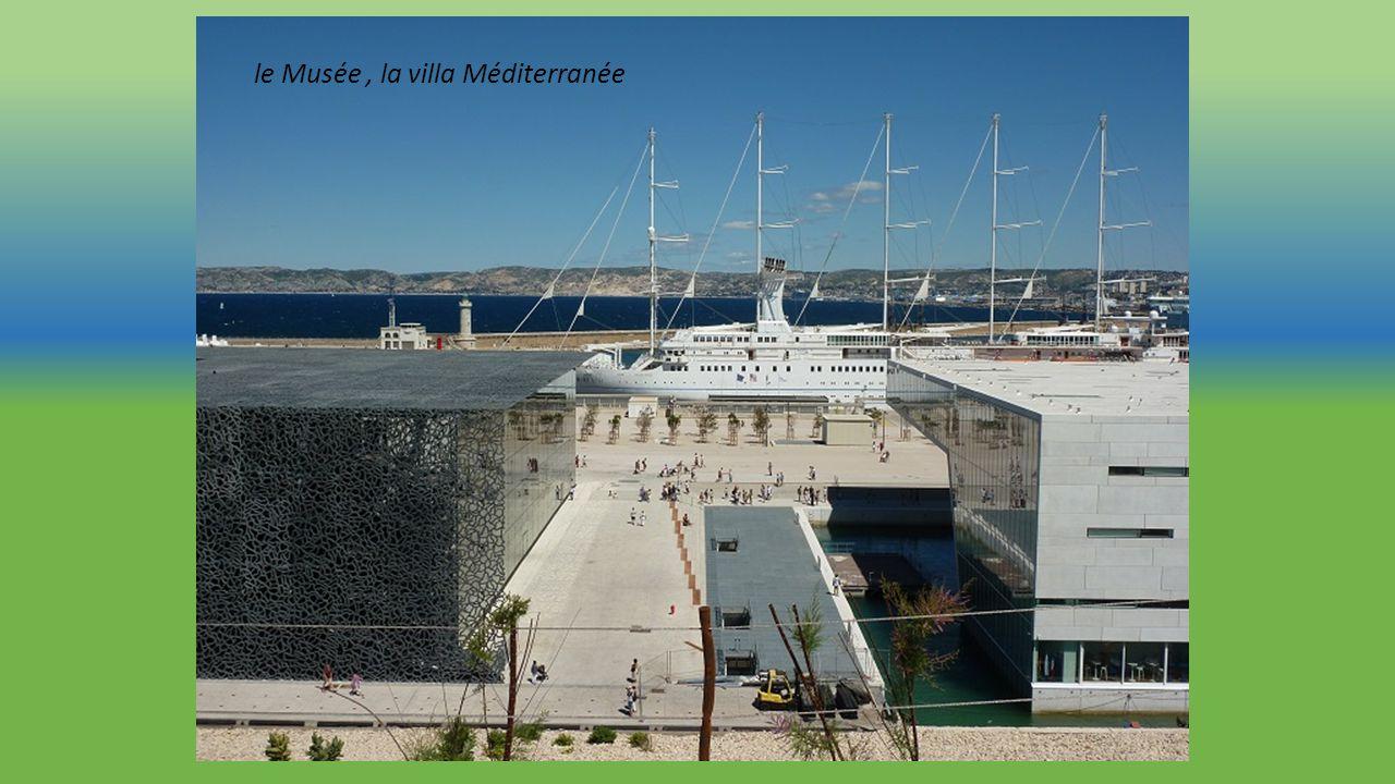 le Musée , la villa Méditerranée