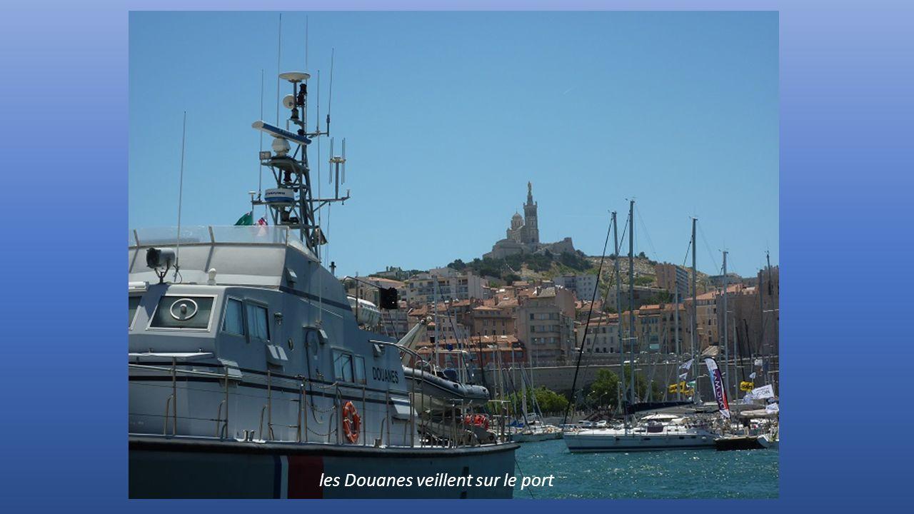 les Douanes veillent sur le port