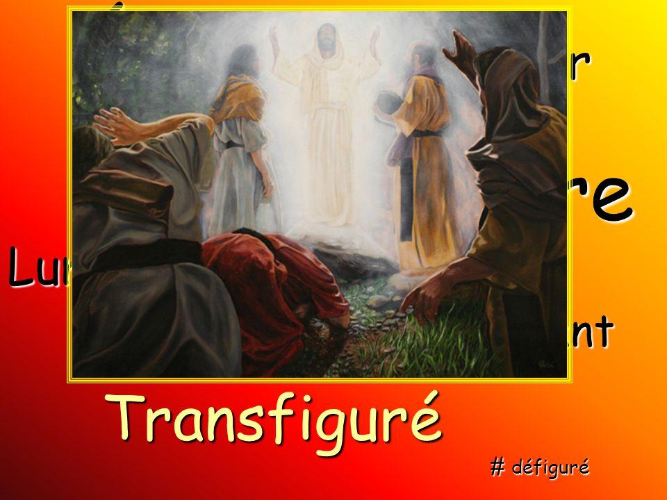 Éclat Gloire Transfiguré Blancheur Lumière Éblouissant Resplendissant