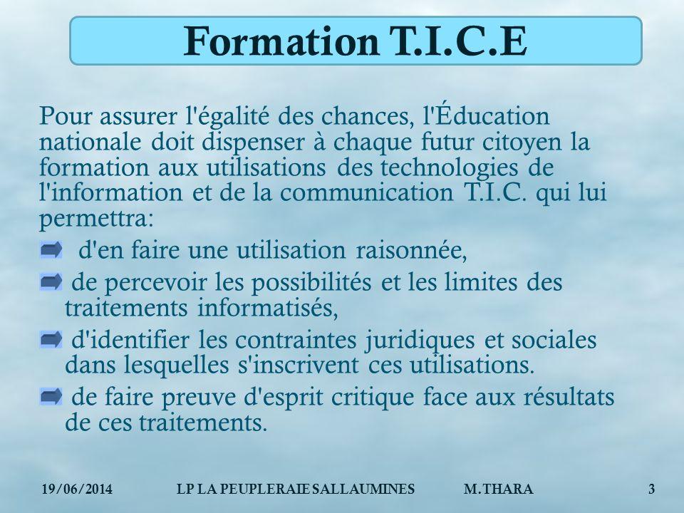 LP LA PEUPLERAIE SALLAUMINES M.THARA