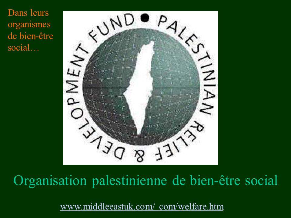 Organisation palestinienne de bien-être social