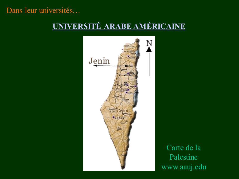 UNIVERSITÉ ARABE AMÉRICAINE