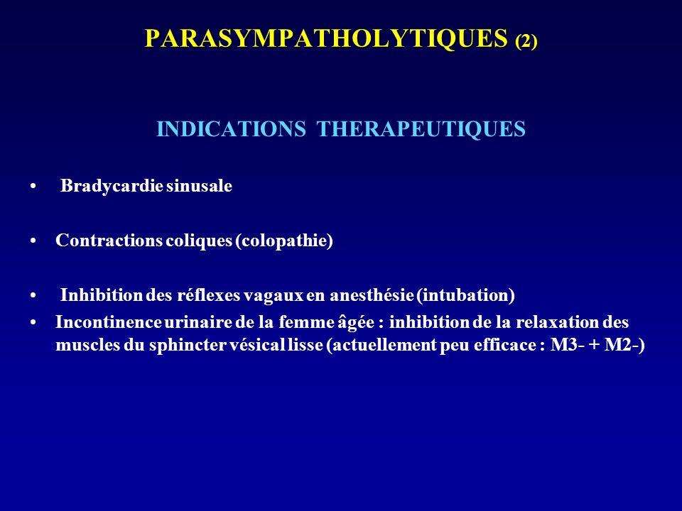 PARASYMPATHOLYTIQUES (2)