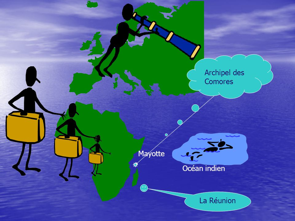 Archipel des Comores Mayotte Océan indien La Réunion