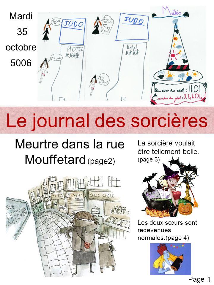 Le journal des sorcières