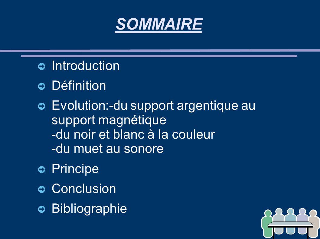SOMMAIRE Introduction Définition