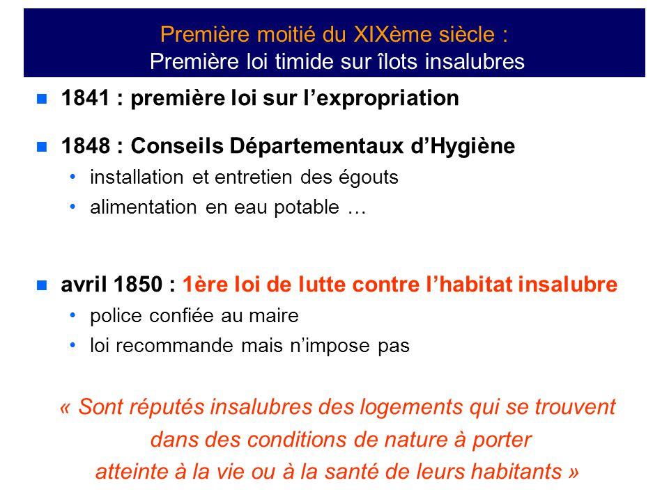 1841 : première loi sur l'expropriation