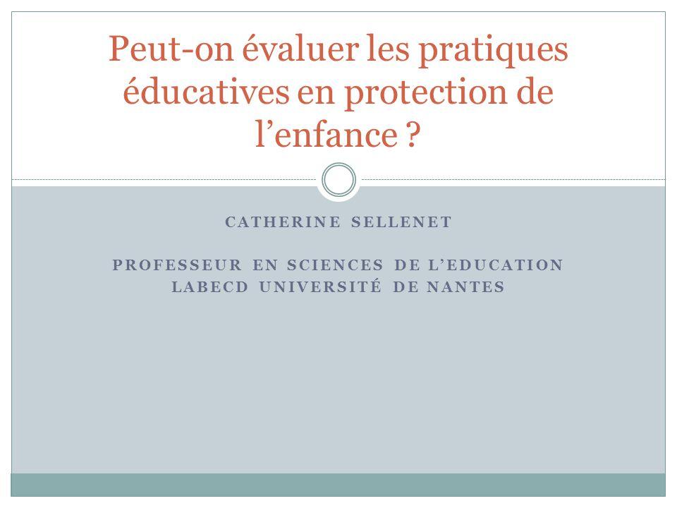 Peut-on évaluer les pratiques éducatives en protection de l'enfance
