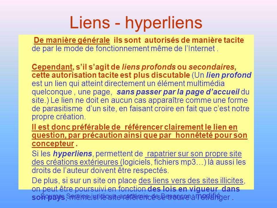 Source: Service juridique académie de Besançon, modifié