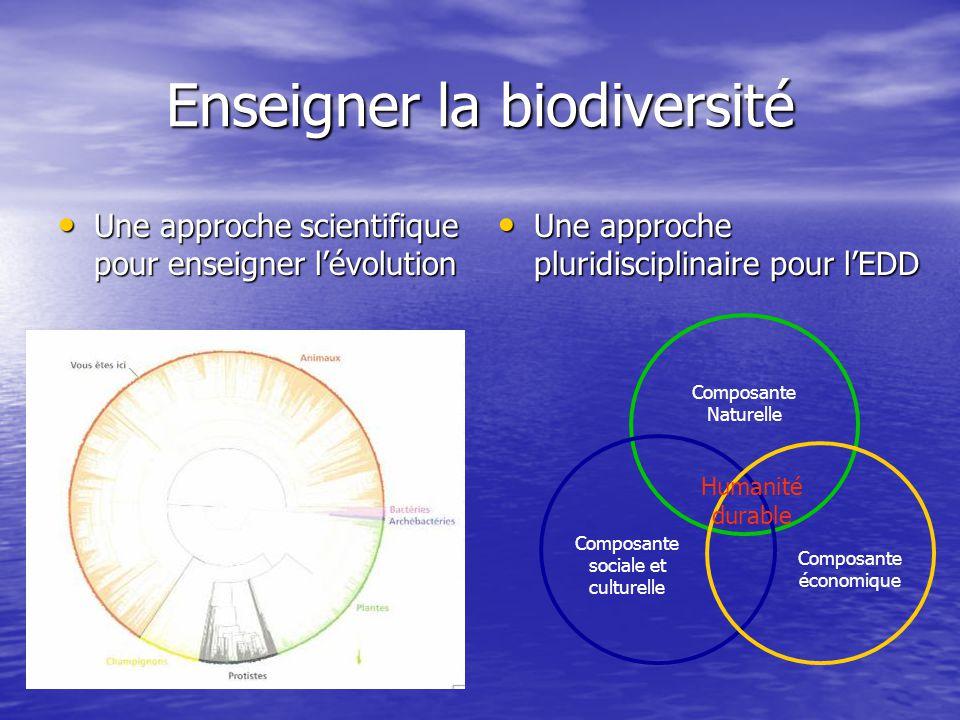 Enseigner la biodiversité